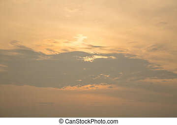 cloudscape, félhomály