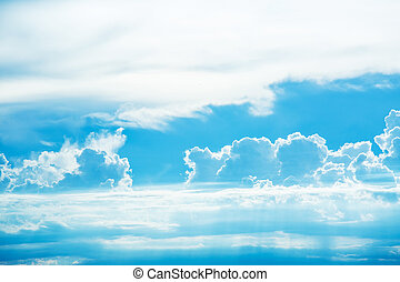 cloudscape, háttér