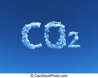 co2, felhős