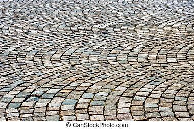 cobblestone, háttér
