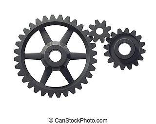 cogwheels, három