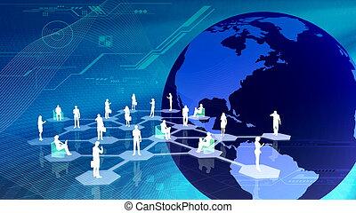 communitty, hálózat, társadalmi