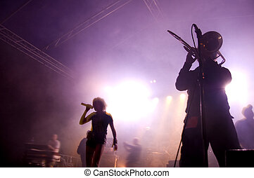 concert., banda, fokozat
