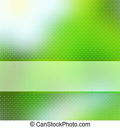 copyspace., elvont, eps, zöld háttér, 8