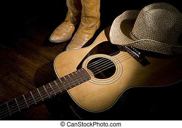 country zene, reflektorfény