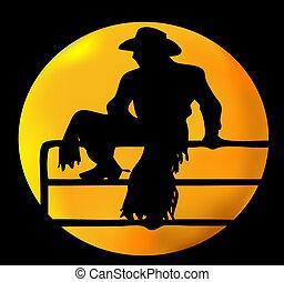 cowboy, hold
