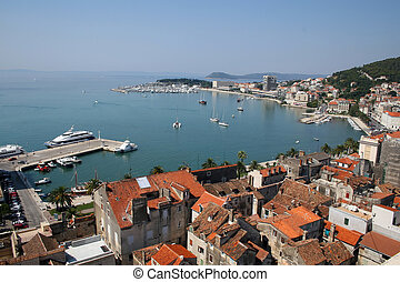 (croatia), hasít, kikötő