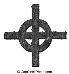 cross., megkövez