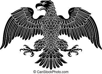 császári, címertani, sas, jelkép