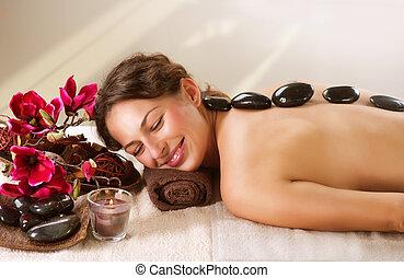 csípős, spa., megkövez, dayspa, massage.