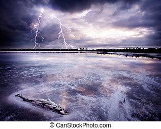 csípős tó, megrohamoz