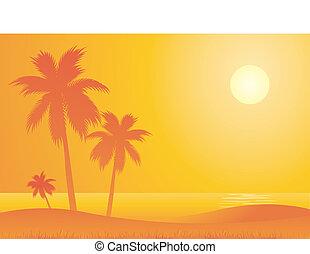 csípős, tengerpart, utazás, háttér