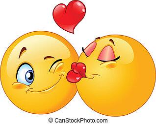 csókolózás, emoticons