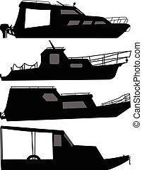 csónakázik