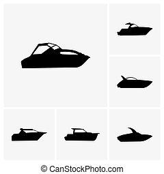 csónakázik, szabász