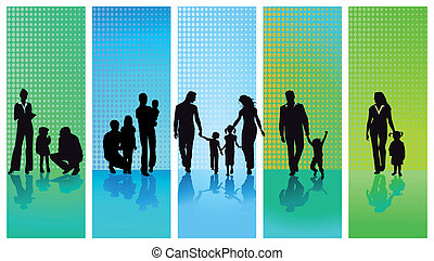 család, öt