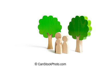 család, fa., természet, time., lélektani, nature., pihenés, gyerekek, elgáncsol, ki, fizikai, parents., egység, egészséges, town., pihenés, erős, jár, számolás, álló