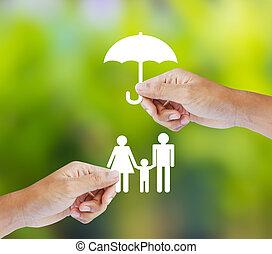 család, fogalom, biztosítás
