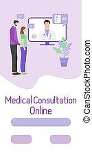 család, healthcare, online orvos, szolgáltatás, orvosi