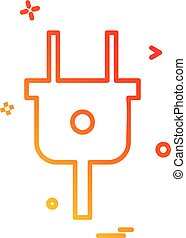 csali, vektor, tervezés, ikon