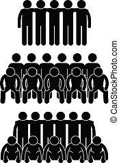 csapatmunka, befog, teammate, csoport