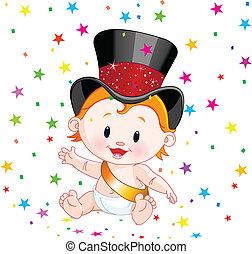 csecsemő új év