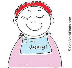 csecsemő, alvás