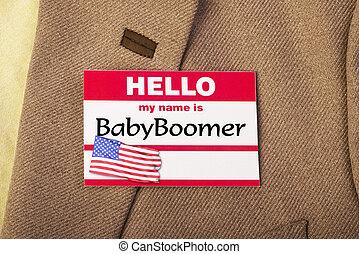csecsemő, boomer.