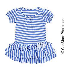 csecsemő, csíkos, ruha