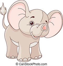 csecsemő elefánt