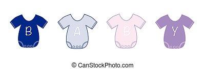 csecsemő felöltöztet