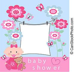 csecsemő shower