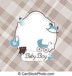 csecsemő shower, vektor
