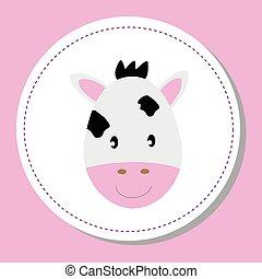 csecsemő tehén