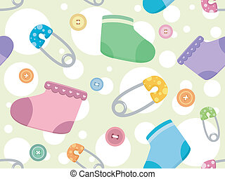 csecsemő, termékek, háttér