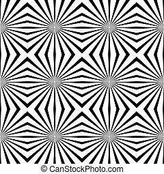 cserép, geometriai, vektor, illusions