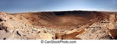 cserbenhagy parkosít, kráter