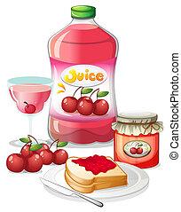 cseresznye, alkalmaz, -e, gyümölcs