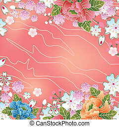 cseresznye, keret, ázsiai, kivirul