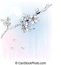 cseresznye, tele virul, kivirul