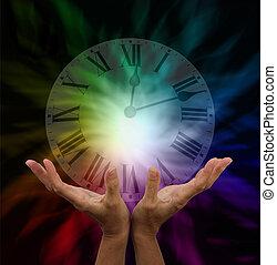 csinál, gyógyulás, idő