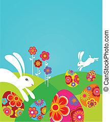 csinos, húsvét, sablon