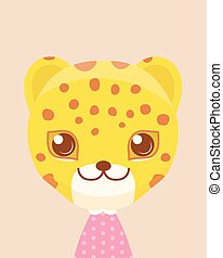 csinos, leopard.