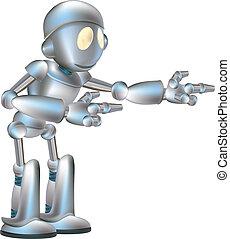 csinos, robot, ábra
