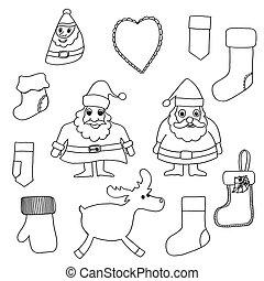 csinos, set., karácsony, apró