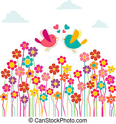 csinos, szeret madár, társadalmi