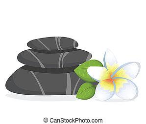 csiszol, ásványvízforrás, virág