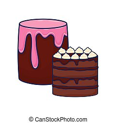 csokoládé, kellemes, aprósütemény