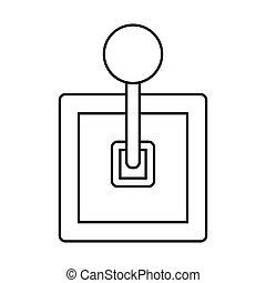 csomó, áttekintés, elszigetelt, tervezés, háttér, fehér, gearbox, ikon