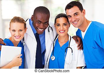 csoport, befog, profi, orvosi